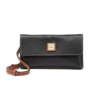 DOONEY & BOURKE Leather Milly Crossbody Bag Black